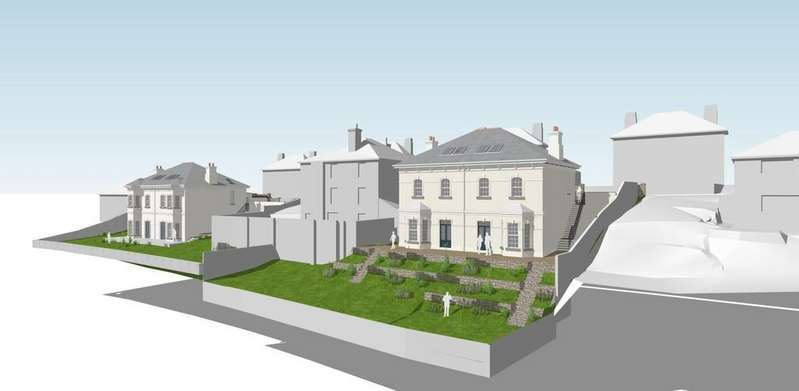 Land Commercial for sale in Tavistock - Infill Plot in Prime Area