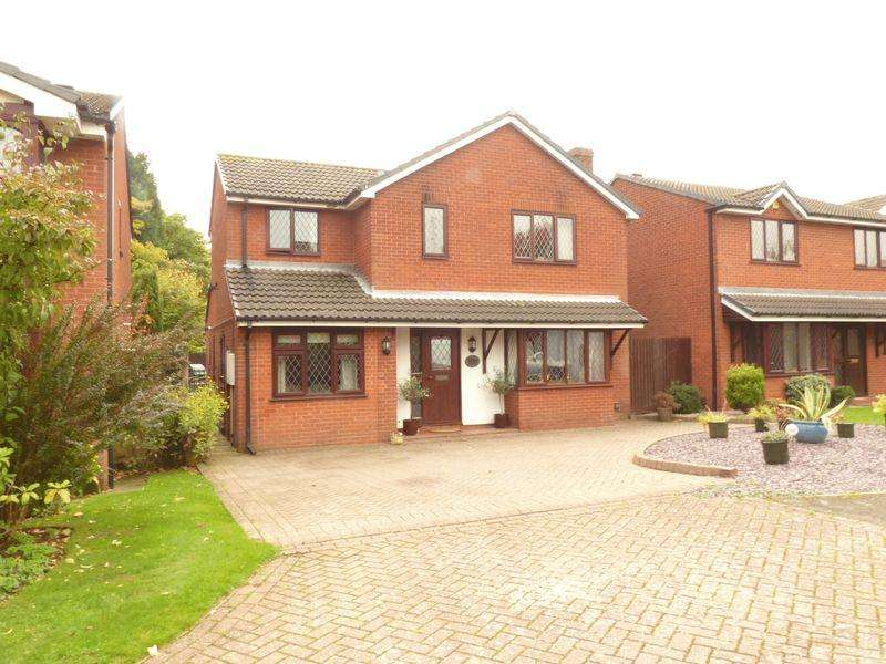 5 Bedrooms Detached House for sale in The Woodlands, Lichfield