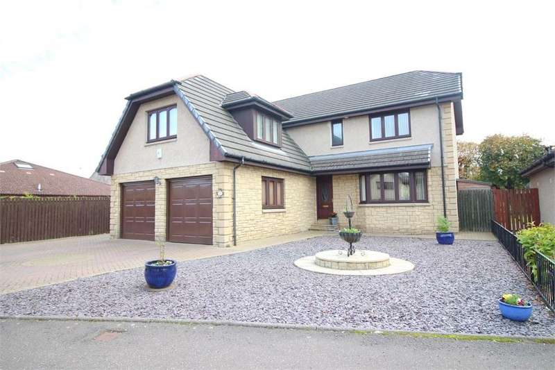 5 Bedrooms Detached House for sale in Howiegate Gardens, MARKINCH, Fife