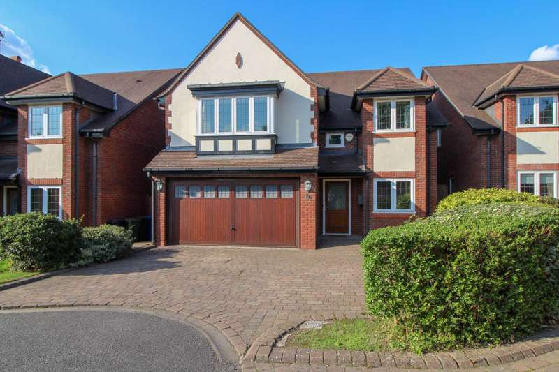 4 Bedrooms Detached House for sale in FIELDSIDE CLOSE in Bramhall with NO CHAIN