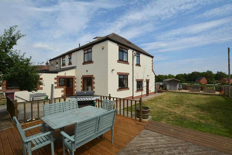 5 Bedrooms Semi Detached House for sale in Guildford Lane, Danesmoor, Chesterfield, S45