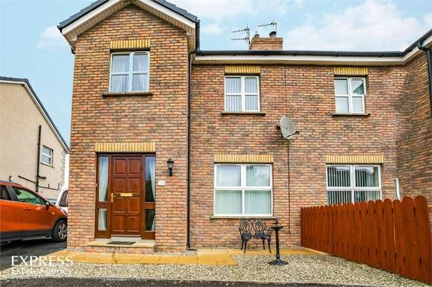 3 Bedrooms Semi Detached House for sale in Castlewood Crescent, Dervock, Ballymoney, County Antrim