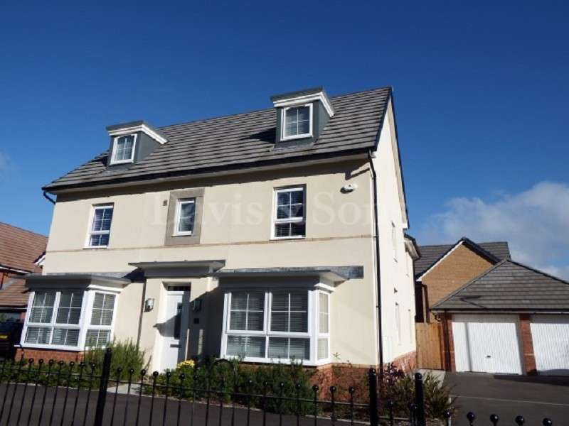 5 Bedrooms Detached House for sale in Jubilee Park, Newport, Gwent. NP10 9NX