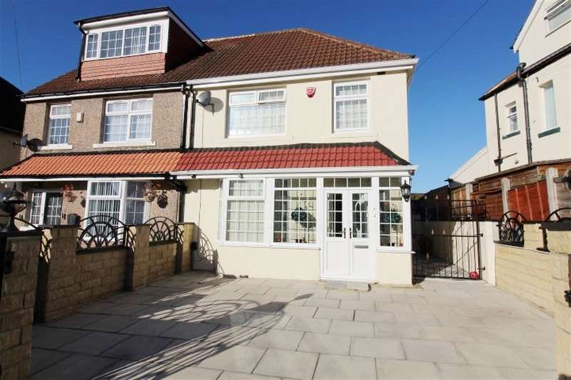 3 Bedrooms Semi Detached House for sale in Woodhall View, Bradford, BD3