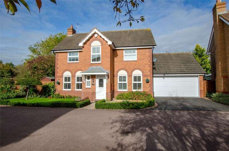 4 Bedrooms Detached House for sale in Walmer Crescent, Worcester, Worcestershire, WR4