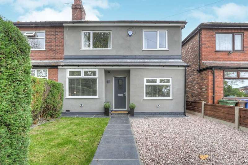 3 Bedrooms Semi Detached House for sale in Hopedale Road, South Reddish, Stockport, SK5