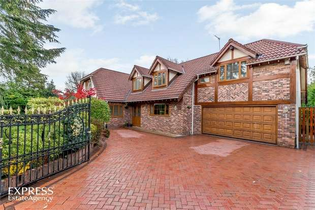 5 Bedrooms Detached House for sale in Eaton Close, Cheadle Hulme, Cheadle, Cheshire