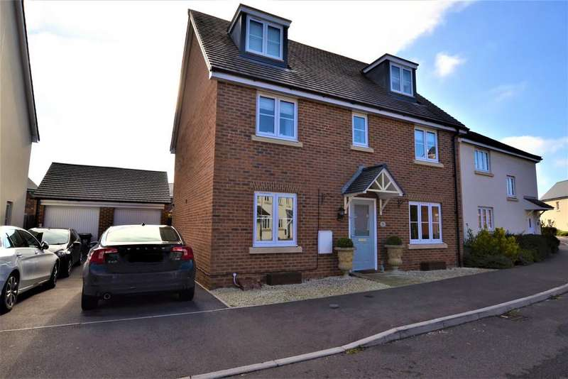 5 Bedrooms Detached House for sale in Symphony Road, Hatherley