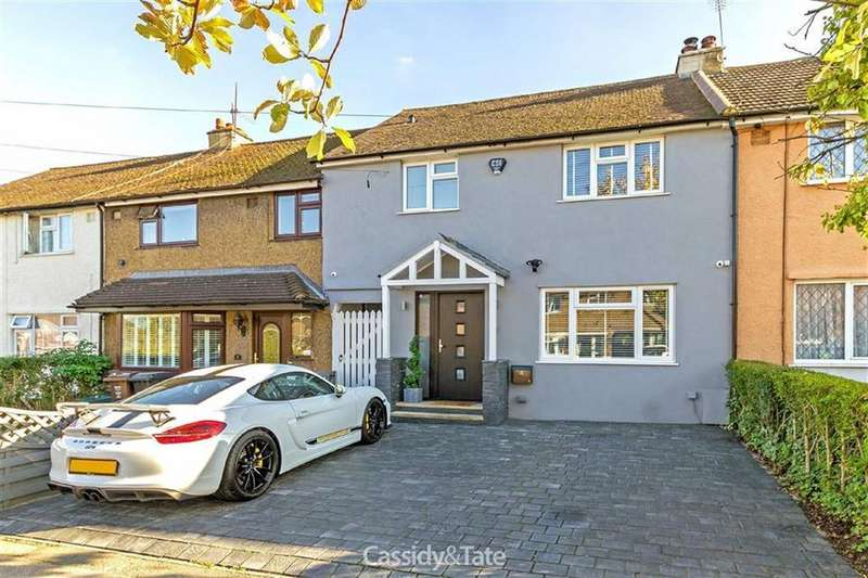 3 Bedrooms Terraced House for sale in Coombes Road, St Albans, Hertfordshire