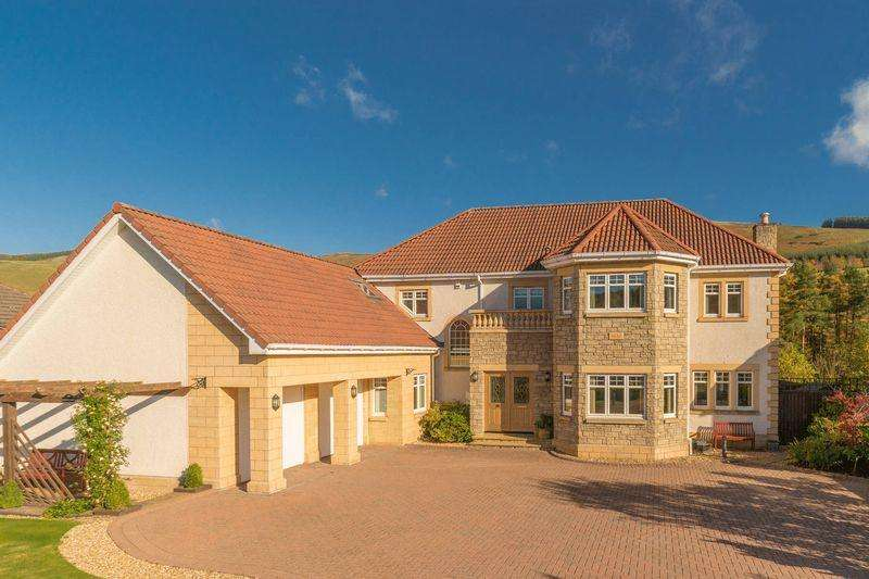 5 Bedrooms Detached House for sale in Glendale, 21 St. Bryde's Way, Cardrona, Peebles, EH45 9LL