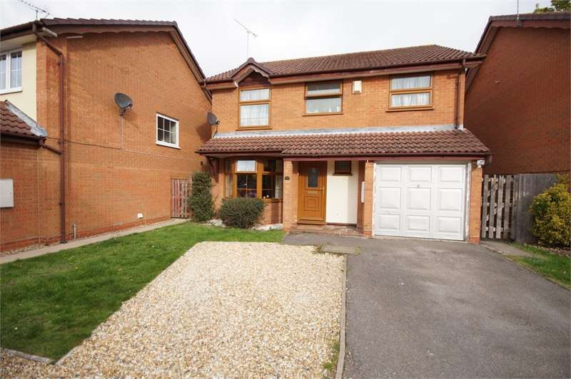 4 Bedrooms Detached House for sale in Firmstone Close, Lower Earley, READING, Berkshire