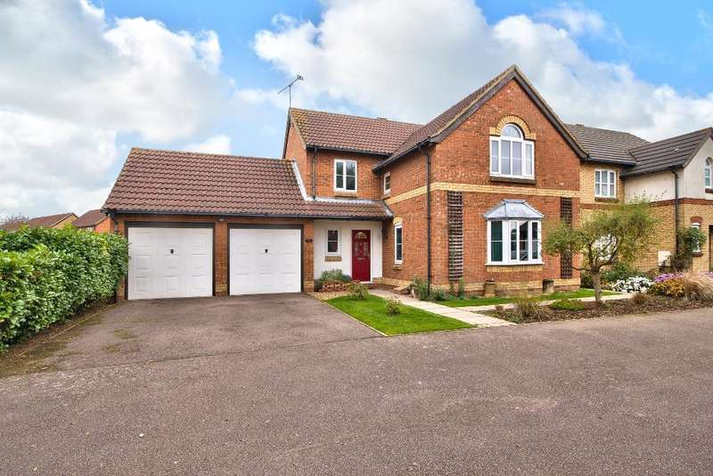 4 Bedrooms Detached House for sale in Malmesbury Abbey, Bedford, MK41 0UW