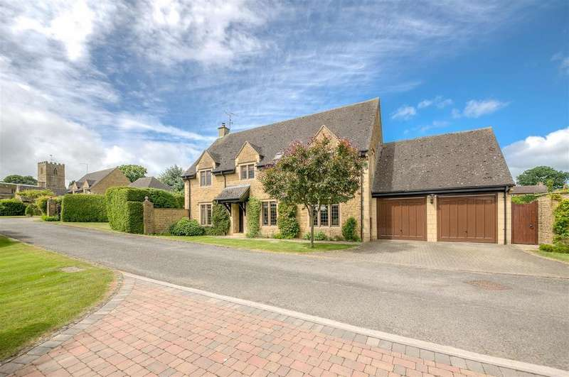 4 Bedrooms Detached House for sale in Manor Gardens, Norton, Daventry