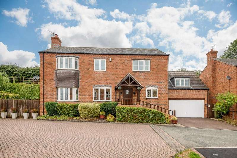 5 Bedrooms Detached House for sale in Howcombe Gardens, Napton, Southam