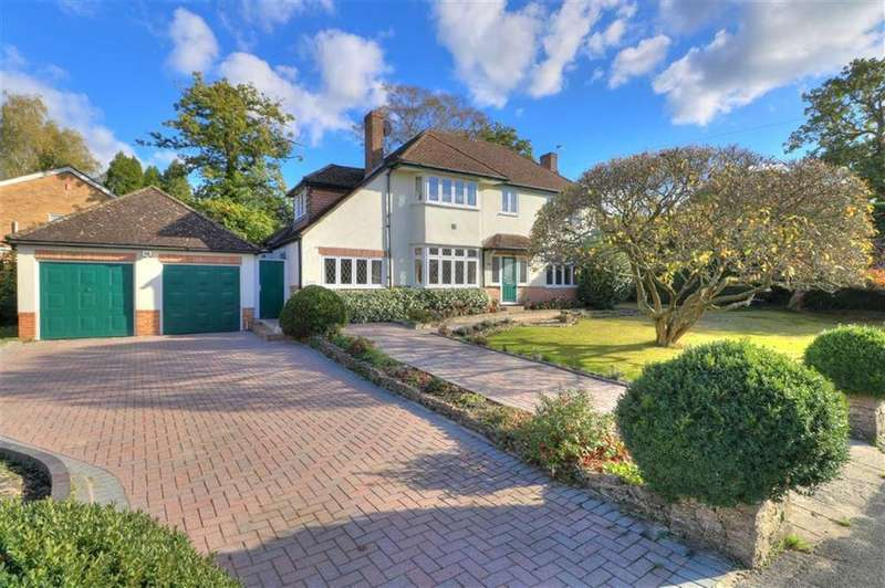 4 Bedrooms Detached House for sale in Kingsway, Hiltingbury, Chandlers Ford, Hampshire