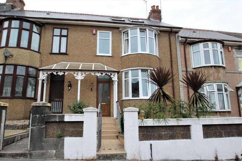 4 Bedrooms Terraced House for sale in Dale Gardens, Mutley , Plymouth
