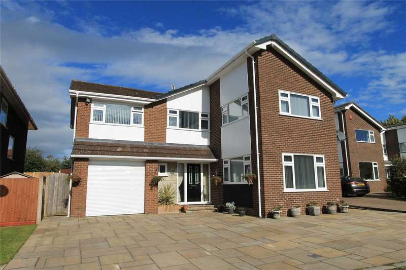 5 Bedrooms Detached House for sale in Arran Close, Woolstanwood, Crewe, Cheshire, CW2