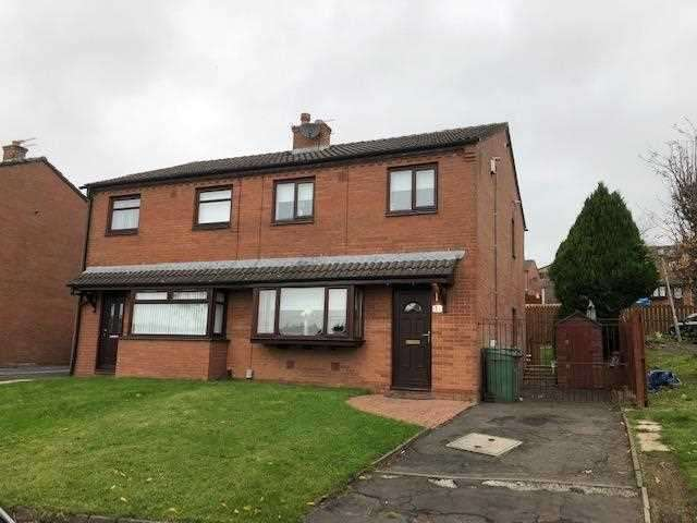 3 Bedrooms Semi Detached House for sale in Bracadale Gardens, Glasgow