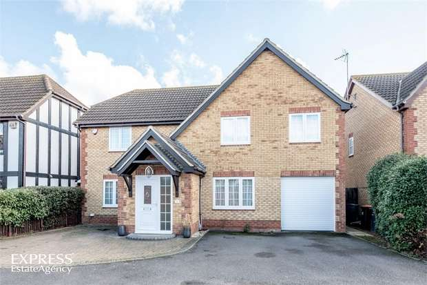 4 Bedrooms Detached House for sale in Great Portway, Great Denham, Bedford