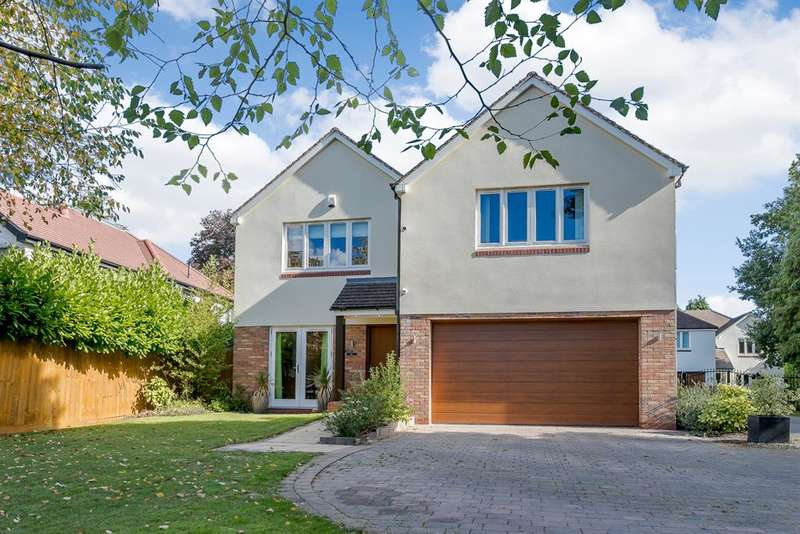 5 Bedrooms Detached House for sale in Spring Coppice Drive, Dorridge, Solihull, B93 8JX