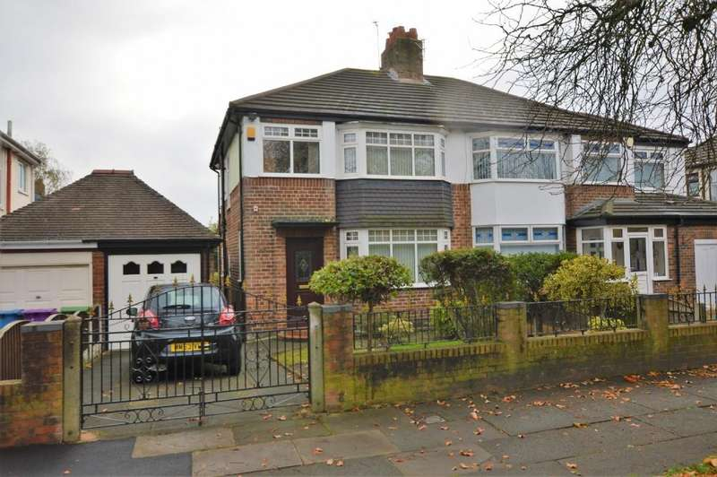 3 Bedrooms Semi Detached House for sale in Bowring Park Road, Liverpool L14 3NR