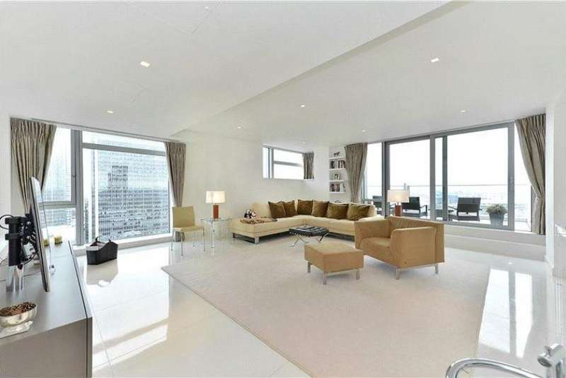 3 Bedrooms Penthouse Flat for rent in Pan peninsula, london E14
