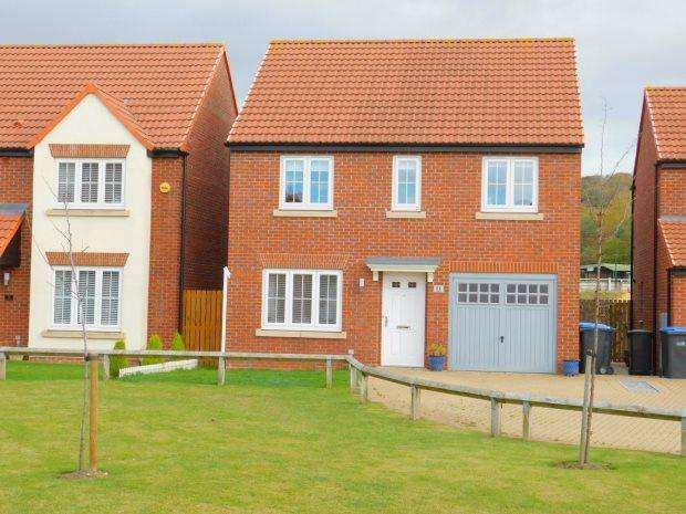 4 Bedrooms Detached House for sale in SANDGATE, COXHOE, DURHAM CITY : VILLAGES EAST OF
