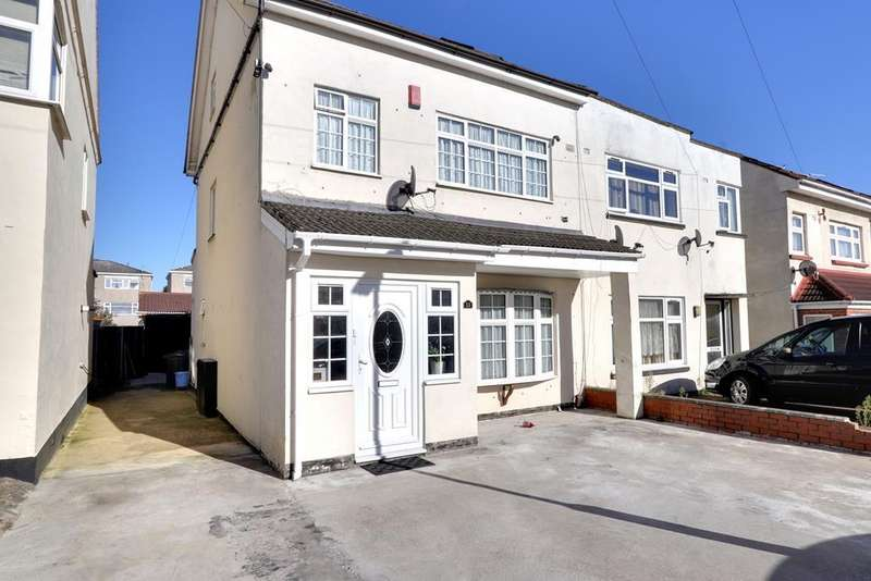 5 Bedrooms Semi Detached House for sale in Gledwood Avenue, Hayes UB4