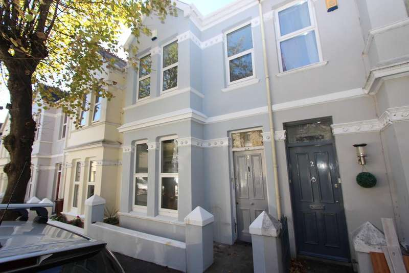 2 Bedrooms Terraced House for sale in Rectory Road, Plymouth