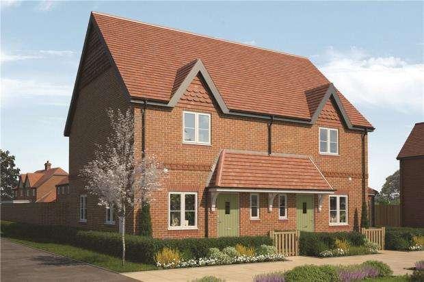 2 Bedrooms Semi Detached House for sale in Eldridge Park, Bell Foundry Lane, Wokingham