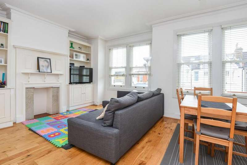 3 Bedrooms Flat for sale in Brookwood Road, Southfields