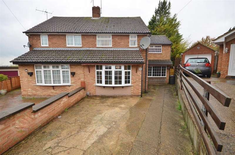 3 Bedrooms Semi Detached House for sale in Redwood Drive, Sundon Park