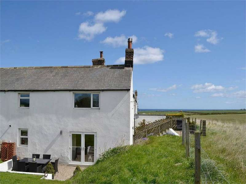 2 Bedrooms Cottage House for sale in 7 East Burton Cottages, East Burton, BAMBURGH, Northumberland