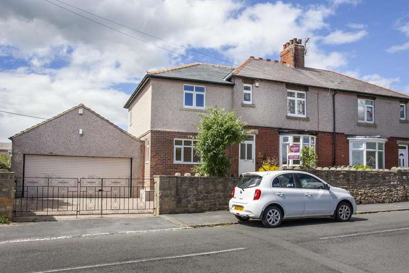 4 Bedrooms Semi Detached House for sale in The Green , Cockfield , Bishop Auckland , County Durham