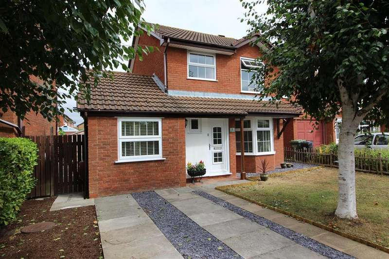 3 Bedrooms Detached House for sale in Cabot Close, Yate, Bristol, BS37 4NN