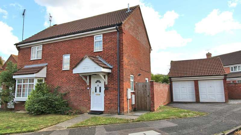 4 Bedrooms Detached House for sale in Webster Road, Aylesbury HP21