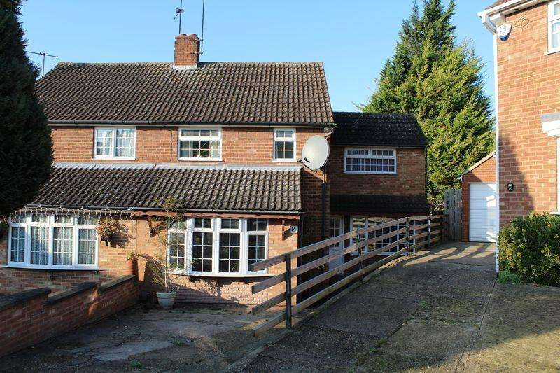 3 Bedrooms Semi Detached House for sale in Extended Family Home on Redwood Drive, Sundon Park