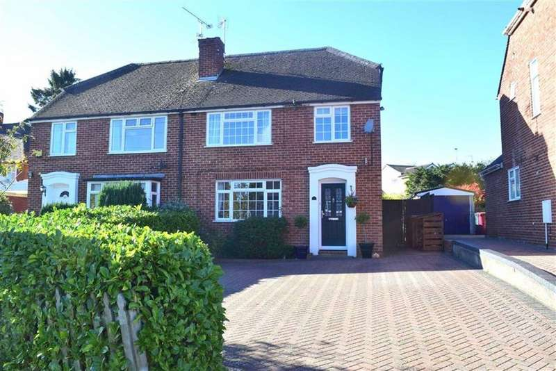 3 Bedrooms Semi Detached House for sale in Woodcote Way, Caversham, Reading