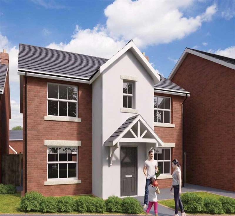 4 Bedrooms Detached House for sale in The Hamilton - Plot 40, The Pavilions, Gresford