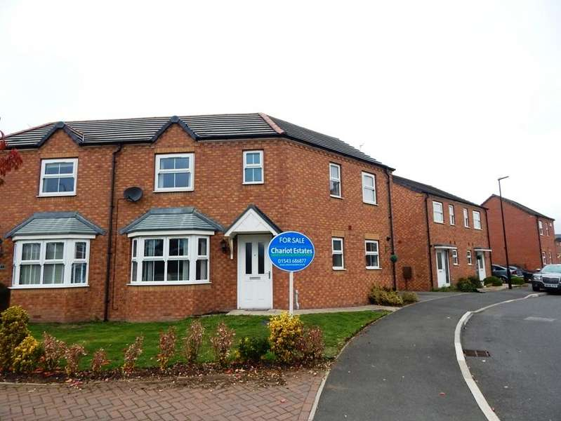 3 Bedrooms Semi Detached House for sale in Northumbrland Way, Walsall WS2