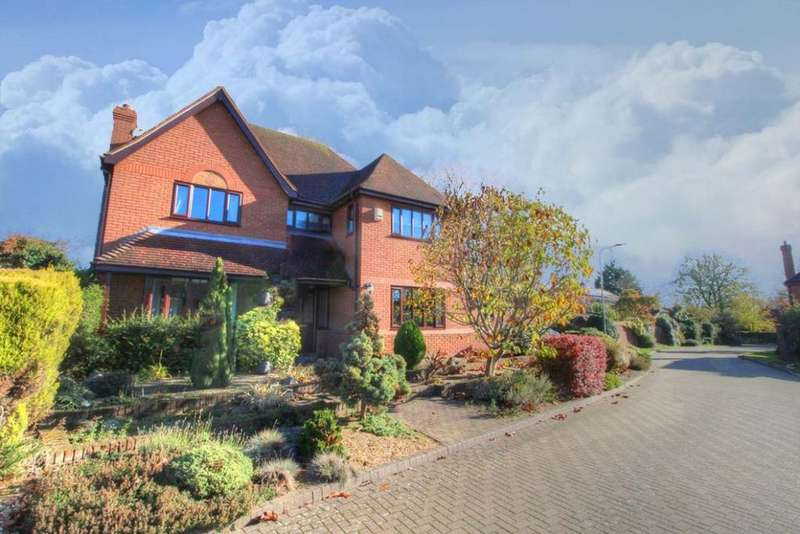 4 Bedrooms Detached House for sale in Orchard Close, Bromham, MK43