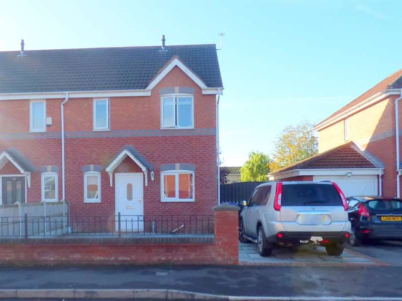 3 Bedrooms Semi Detached House for sale in Silverbrook Road, Netherley, Liverpool