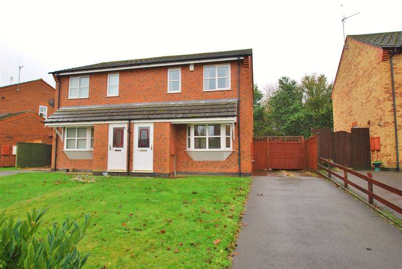 3 Bedrooms Semi Detached House for sale in Magellan Drive, Spilsby