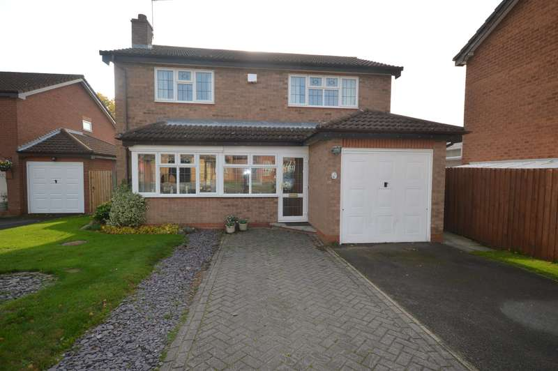 4 Bedrooms Detached House for sale in The Burrows, Narborough, Leics, LE19 3WS