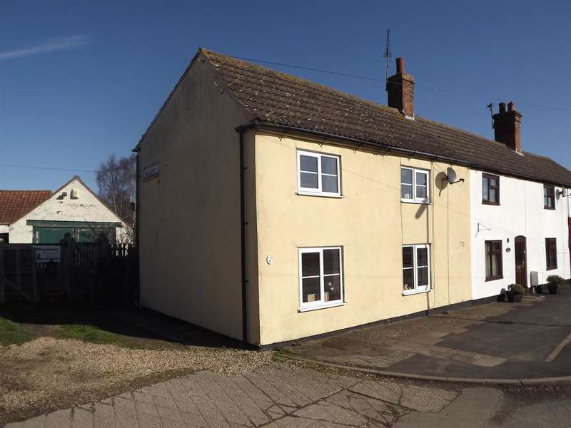 2 Bedrooms End Of Terrace House for sale in Station Road, Bardney, Lincoln, LN3 5UA