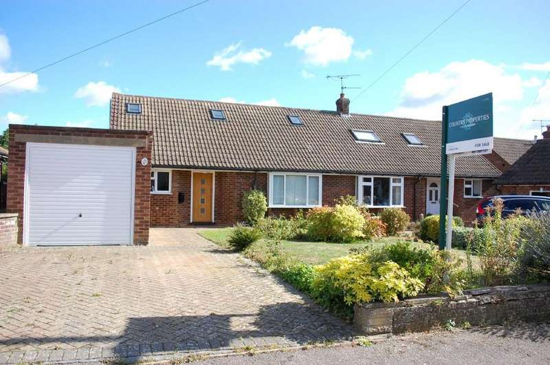 4 Bedrooms Semi Detached House for sale in New Close, Knebworth, SG3