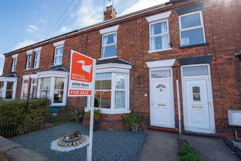 3 Bedrooms Terraced House for sale in Boston Road, Spilsby