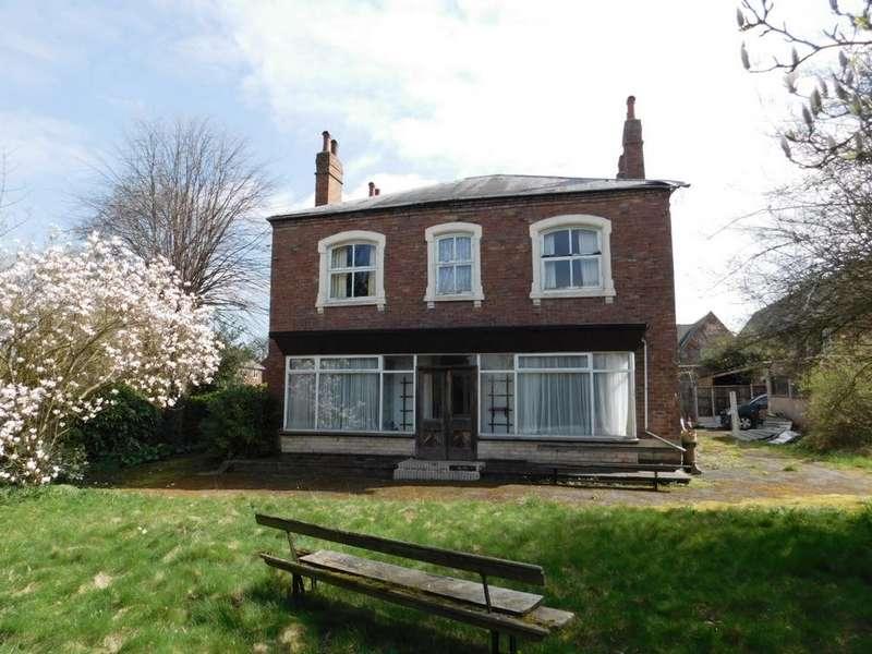5 Bedrooms Detached House for sale in York Road, Church Gresley, DE11