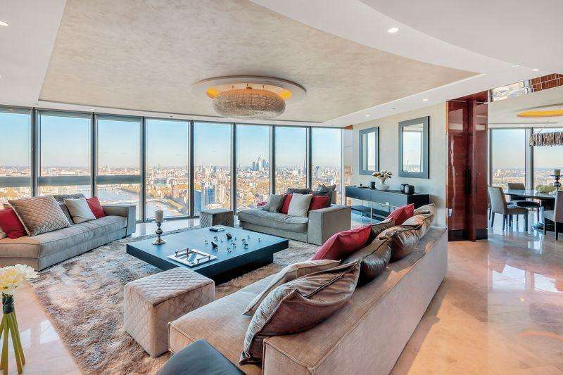 3 Bedrooms Apartment Flat for sale in The Tower, One St George Wharf, London