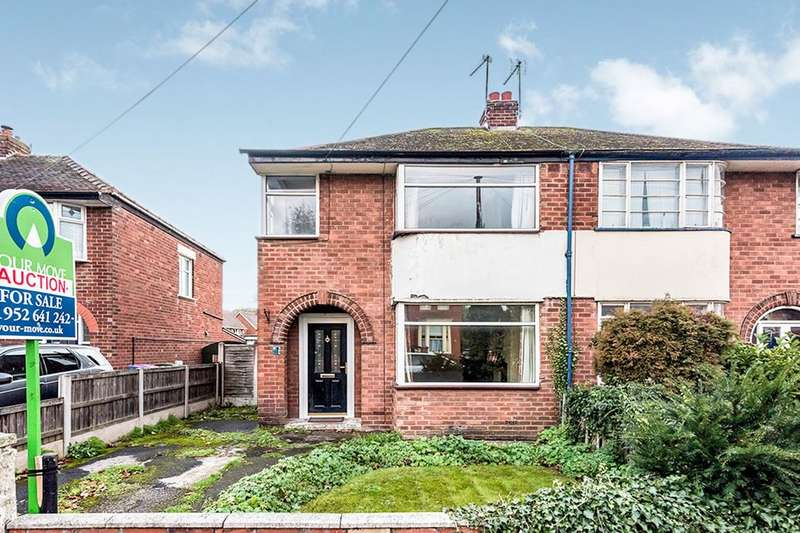 3 Bedrooms Semi Detached House for sale in New Church Road, Wellington, Telford, TF1